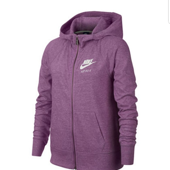 Nike Sweaters - Nike zip up sweatshirt girls